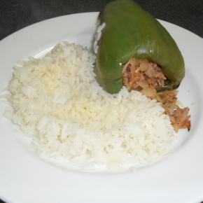 Tuna-stuffed Peppers