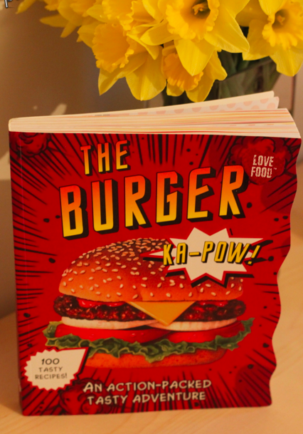 The best burger book ever? (photo by Ashley)